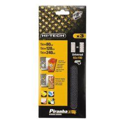 Black & Decker X39047 93mm x 190mm 80g 120g 240g Third Mesh Sheet - Universal Fit
