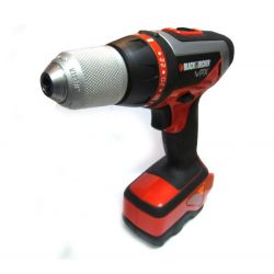 Black & Decker VPX1212 7.2 Volt Volt Ni-Cd Cordless Drill Driver Body Only Bare Unit