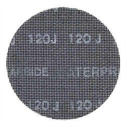 Black & Decker X39257 Pack of 3 125mm 120g Round Random Orbit Mesh Sanding Sheet Hook & Loop