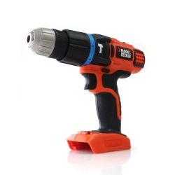 Black & Decker EGBL188K 18 Volt Li-Ion 2 Gear Combi Hammer Drill Body Only Bare Unit w/ Kitbox