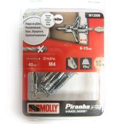 Black & Decker Molly Fixings M12006
