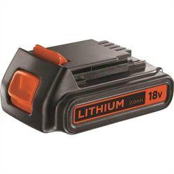 Black & Decker BL2018 18 Volt 2.0Ah Li-Ion Slide Battery Pack