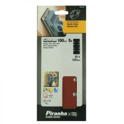 [NO LONGER AVAILABLE] Black & Decker Piranha X31131 Pack of 5 1/3 Sheet 100G Orbital Sanding Sheets