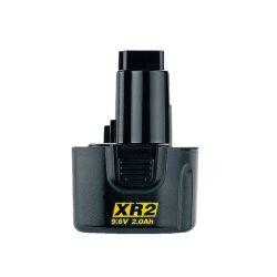 [NO LONGER AVAILABLE] DeWalt DE9061 9.6 Volt 2.0Ah Ni-Cd Push-In Battery Pack