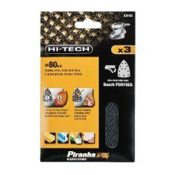 Black & Decker X39152 Pack of 3 Mesh Sanding Sheet 80g - Fits Bosch PMS160A