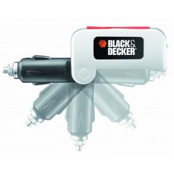 Black & Decker BDPC10USB Car USB Power Adapter Transformer Charger w/ 2 x USB Ports