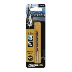Black & Decker Piranha X50714 HSS-CNC 5.5mm Drill Bit - For Metals