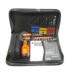 Black & Decker A7131 30 Piece Drill Bit & Shelving Solution Set Set