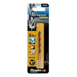Black & Decker Piranha X51063 Hi-Tech HSS-CNC Bullet Bit 5.5mm x 93mm - For Metal, Wood, Plastic