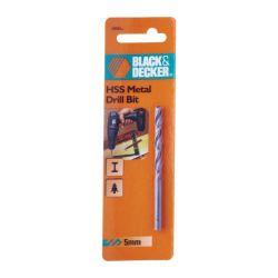 "Black & Decker A8069 5mm HSS Metal Drill Bit 3/16"""