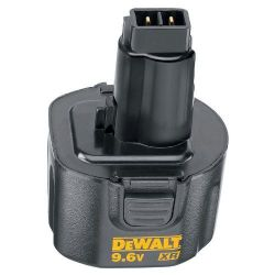 DeWalt DE9062 9.6 Volt 1.3Ah Ni-Cd Push-In Battery Pack