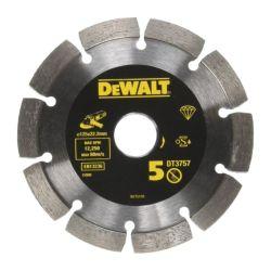 "DeWalt DT3757 125mm 5"" Diamond Mortar Rake Joint Disc Wheel"