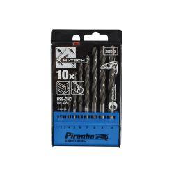 Black & Decker X56043 HSS Drill Bit Set (10) 1-10mm
